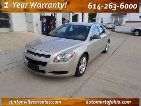 2012 Chevrolet Malibu for sale at Clintonville Car Sales - AutoMart of Ohio in Columbus OH