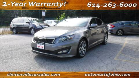 2013 Kia Optima for sale at Clintonville Car Sales - AutoMart of Ohio in Columbus OH