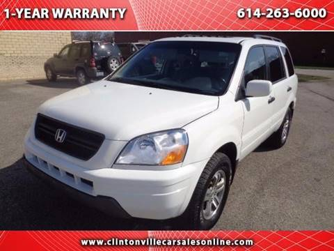 2005 Honda Pilot for sale at CLINTONVILLE CAR SALES - Automart of Ohio in Columbus OH