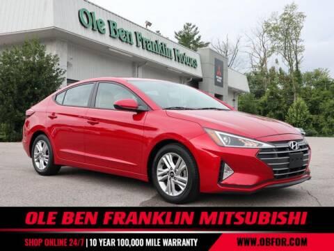 2020 Hyundai Elantra for sale at Ole Ben Franklin Mitsbishi in Oak Ridge TN