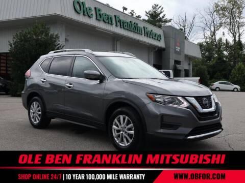 2019 Nissan Rogue for sale at Ole Ben Franklin Mitsbishi in Oak Ridge TN