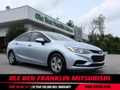 2017 Chevrolet Cruze for sale at Ole Ben Franklin Mitsbishi in Oak Ridge TN