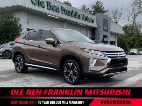 2019 Mitsubishi Eclipse Cross for sale at Ole Ben Franklin Mitsbishi in Oak Ridge TN