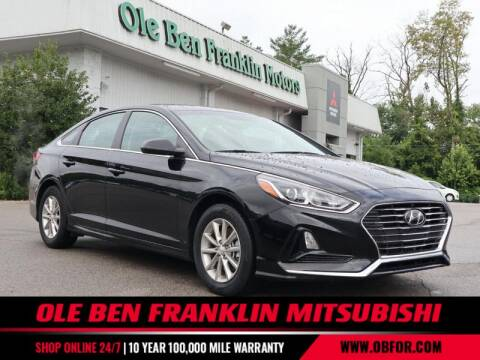 2019 Hyundai Sonata for sale at Ole Ben Franklin Mitsbishi in Oak Ridge TN