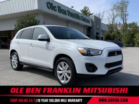 2014 Mitsubishi Outlander Sport for sale at Ole Ben Franklin Mitsbishi in Oak Ridge TN