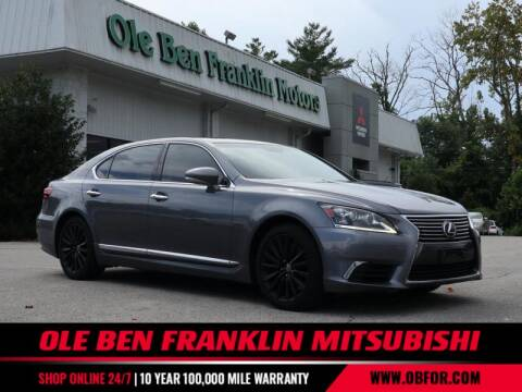 2014 Lexus LS 460 for sale at Ole Ben Franklin Mitsbishi in Oak Ridge TN