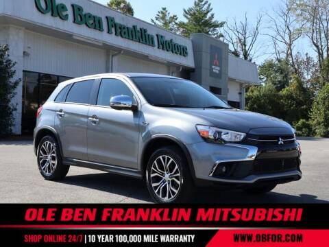 2019 Mitsubishi Outlander Sport for sale at Ole Ben Franklin Mitsbishi in Oak Ridge TN