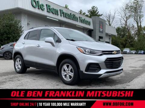 2017 Chevrolet Trax for sale at Ole Ben Franklin Mitsbishi in Oak Ridge TN