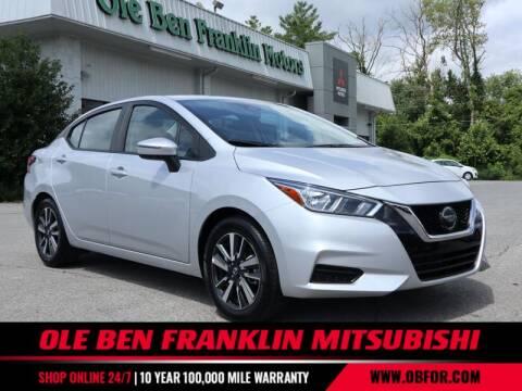 2020 Nissan Versa for sale at Ole Ben Franklin Mitsbishi in Oak Ridge TN