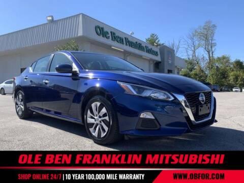2019 Nissan Altima for sale at Ole Ben Franklin Mitsbishi in Oak Ridge TN