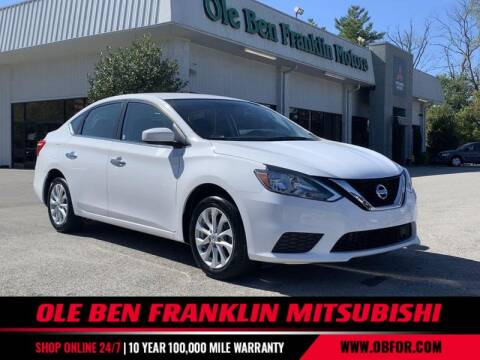 2019 Nissan Sentra for sale at Ole Ben Franklin Mitsbishi in Oak Ridge TN