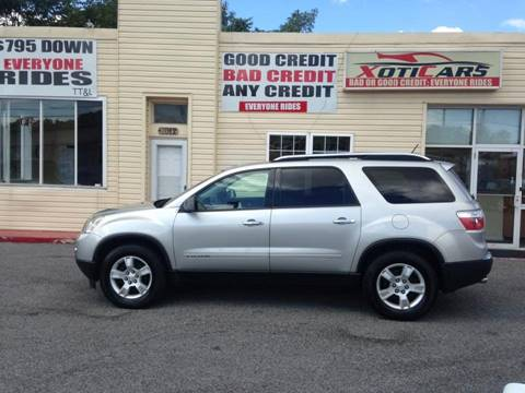 2008 GMC Acadia for sale in Rosedale, MD