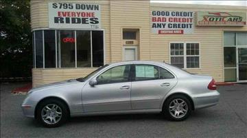 2005 Mercedes-Benz E-Class for sale in Rosedale, MD