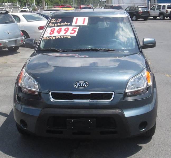 2011 Kia Soul + 4dr Wagon 4A - Elizabethton TN