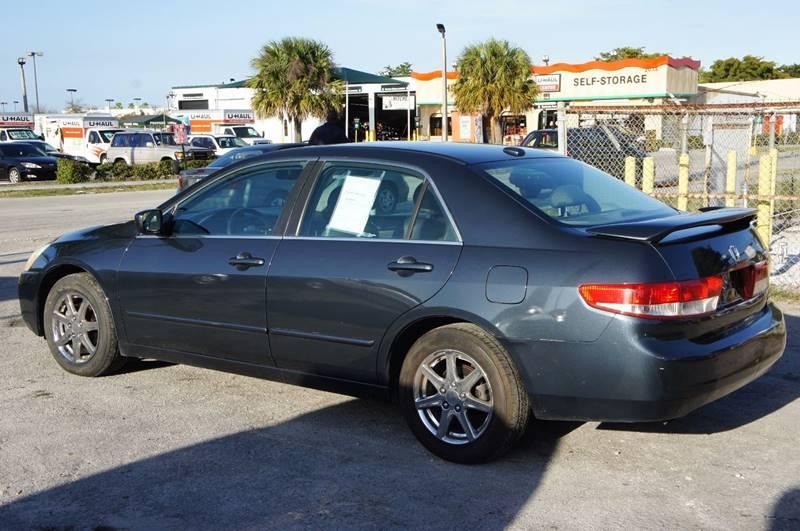 2004 Honda Accord EX V-6 4dr Sedan - Miami FL
