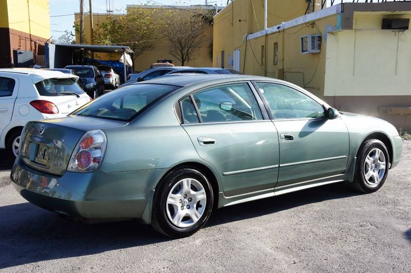 2003 Nissan Altima 2.5 S 4dr Sedan - Miami FL