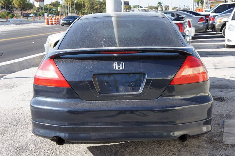2003 Honda Accord EX V-6 2dr Coupe - Miami FL