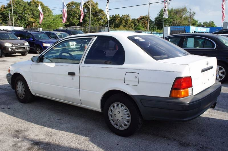 1996 Toyota Tercel 2dr Coupe - Miami FL