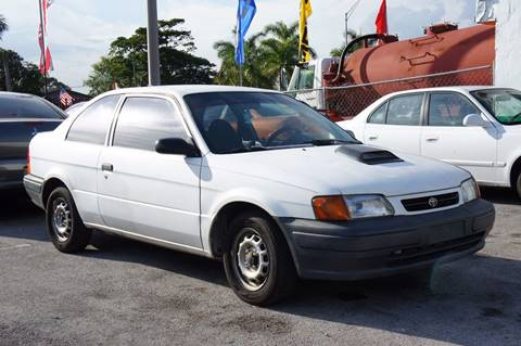 1996 Toyota Tercel for sale in Miami, FL