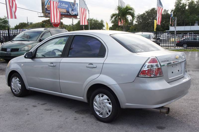 2007 Chevrolet Aveo LS 4dr Sedan - Miami FL