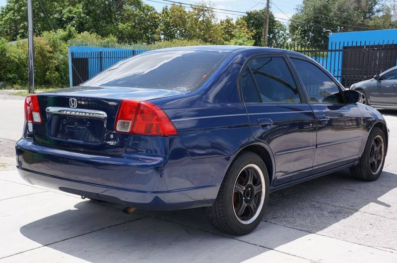 2003 Honda Civic LX 4dr Sedan - Miami FL