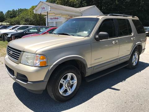 2002 Ford Explorer for sale at ATLANTA AUTO WAY in Duluth GA