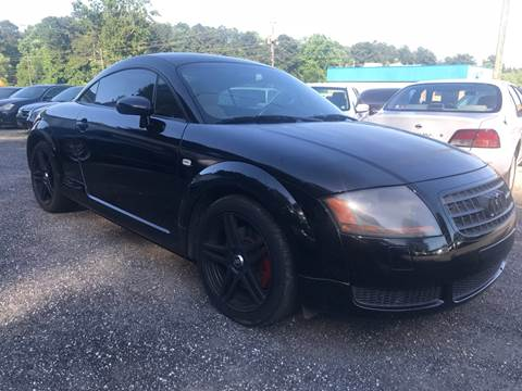 2003 Audi TT for sale at CAR STOP INC in Duluth GA