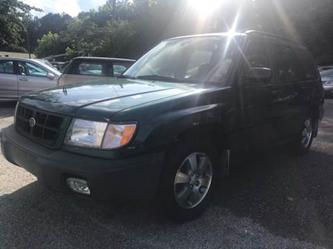 1998 Subaru Forester for sale at CAR STOP INC in Duluth GA
