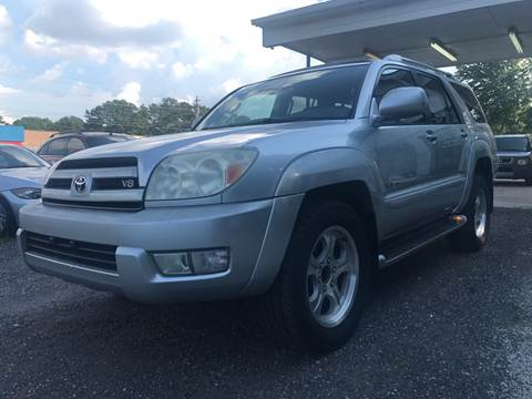 2003 Toyota 4Runner for sale at CAR STOP INC in Duluth GA