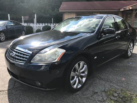 2007 Infiniti M35 for sale at ATLANTA AUTO WAY in Duluth GA