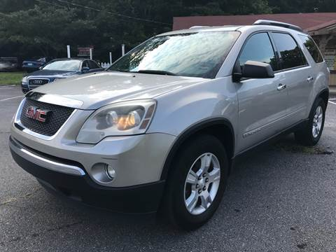 2008 GMC Acadia for sale at CAR STOP INC in Duluth GA