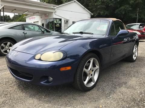 2003 Mazda MX-5 Miata for sale at CAR STOP INC in Duluth GA