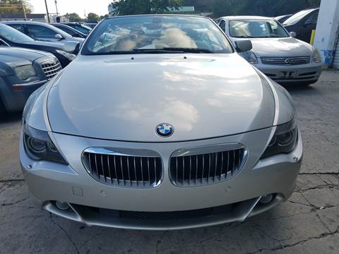 2005 BMW 6 Series for sale at CAR STOP INC in Duluth GA