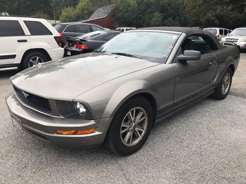 2005 Ford Mustang for sale at CAR STOP INC in Duluth GA