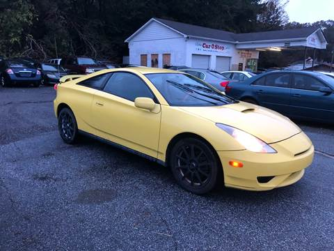 2003 Toyota Celica for sale at CAR STOP INC in Duluth GA