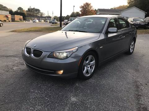 2008 BMW 5 Series for sale at CAR STOP INC in Duluth GA