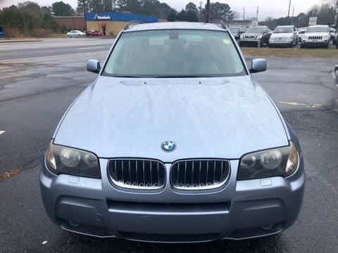 2006 BMW X3 for sale at CAR STOP INC in Duluth GA