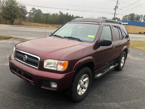 2003 Nissan Pathfinder for sale at CAR STOP INC in Duluth GA
