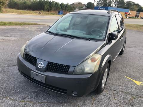 2006 Nissan Quest for sale at CAR STOP INC in Duluth GA