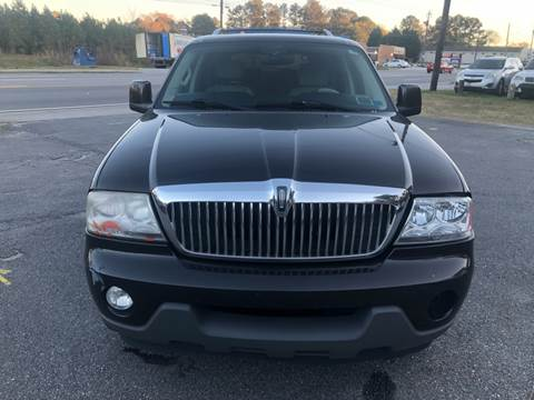 2005 Lincoln Aviator for sale at CAR STOP INC in Duluth GA