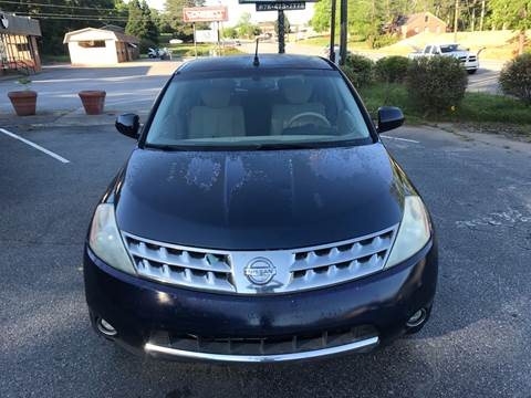 2006 Nissan Murano for sale at CAR STOP INC in Duluth GA