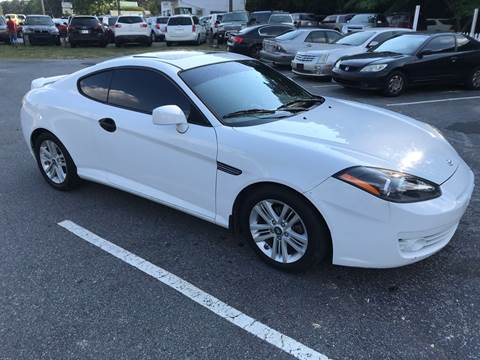 2008 Hyundai Tiburon for sale at CAR STOP INC in Duluth GA