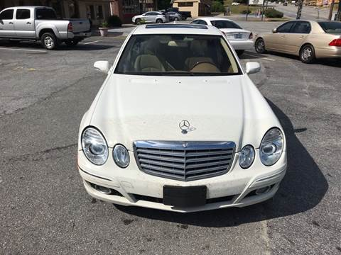 2009 Mercedes-Benz E-Class for sale at CAR STOP INC in Duluth GA