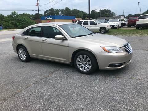 2014 Chrysler 200 for sale at CAR STOP INC in Duluth GA