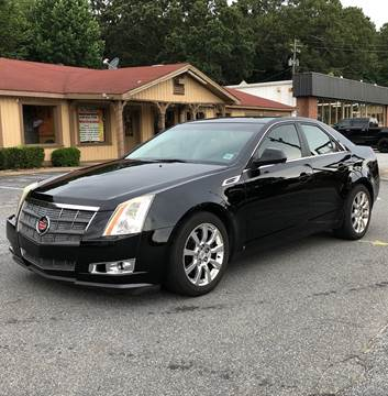 2008 Cadillac CTS for sale at CAR STOP INC in Duluth GA