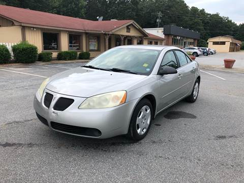 2006 Pontiac G6 for sale at CAR STOP INC in Duluth GA