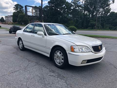 2004 Acura RL for sale at CAR STOP INC in Duluth GA