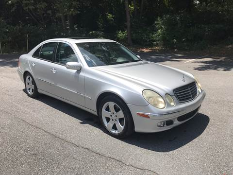 2004 Mercedes-Benz E-Class for sale at CAR STOP INC in Duluth GA