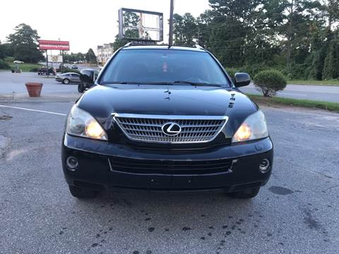 2008 Lexus RX 400h for sale at CAR STOP INC in Duluth GA