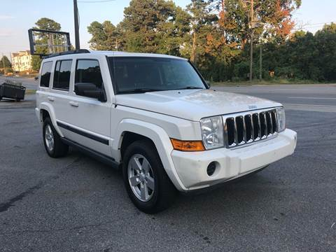 2007 Jeep Commander for sale at CAR STOP INC in Duluth GA